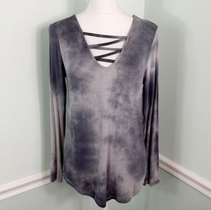 Tie dye long sleeve tshirt
